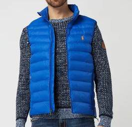 Polo Ralph Lauren Steppweste in Blau oder Orange für je 103,99€ (statt 180€)