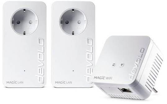 devolo Magic 1 WiFi Multimedia Power Kit (1200Mbit, Powerline + WLAN ac, Mesh) für 94,99€ (statt 128€)