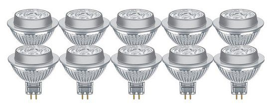 10x Osram Parathom LED Spots GU5.3 (dimmbar) für 22,90€ (statt 30€)