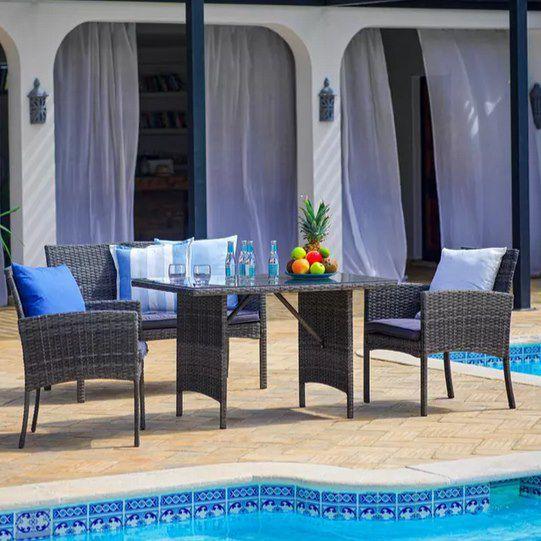 Loungegarnitur Marokko in Anthrazit ab 174,30€ (statt 350€)