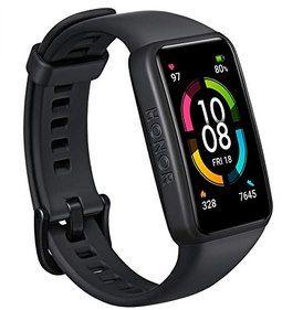 HONOR Band 6 Fitnesstracker mit AMOLED Touchscreen, SpO2- & Herzfrequenzmesser für 39,99€ (statt 50€)