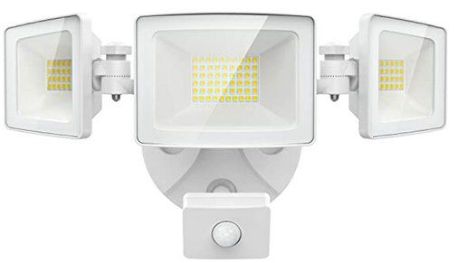 Olafus 50W LED Strahler mit Bewegungsmelder & 3 Köpfe für 32,74€ (statt 55€)