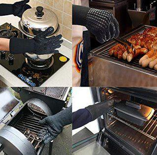Fretrecy Ofen  & Grillhandschuhe für zu bis 800°C für 10,87€ (statt 16€)