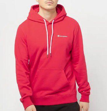 Champion Legacy Hooded Sweatshirt in Rot für 31,99€ (statt 60€)