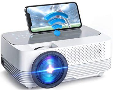 VicTsing Mini LED 720p Beamer mit 6000 Lumen für 65,99€ (statt 120€)