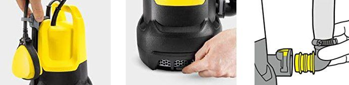 Kärcher SP 7 Dirt Schmutzwasser Tauchpumpe (max. 15000 l/h) für 103,30€ (statt 140€)