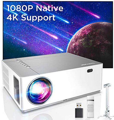 Bomaker Parrot 1 – 1080p LED Beamer mit 4K Support & 7.200 Lumen für 159,99€ (statt 210€)