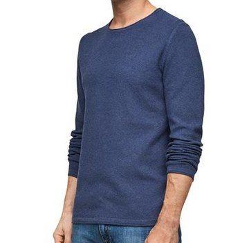 S. Oliver Feinstrickpullover in Blau für 20,93€ (statt 35€)