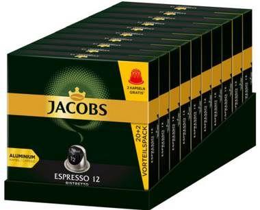 Jacobs Espresso Ristretto – 220 Kaffee Kapseln Nespresso für 34,90€ (statt 40€)