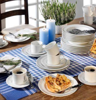 Friesland Kombi Service Jeverland Weiß, 36 teilig für 99,99€ (statt 129€)