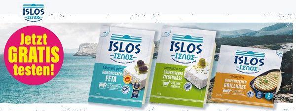 Griechischen Käse von Islos kostenlos ausprobieren