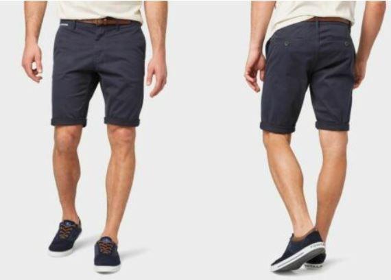 Tom Tailor Josh Chino Shorts inkl. Gürtel für je 18,39€ (statt 34€)