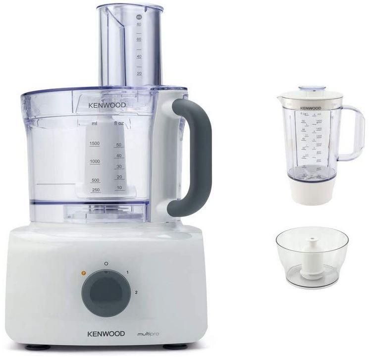 Kenwood FDP643WH Küchenmaschine Multipro Home 1000W 1,5L Mixeraufsatz für 76,50€ (statt 160€) B-Ware