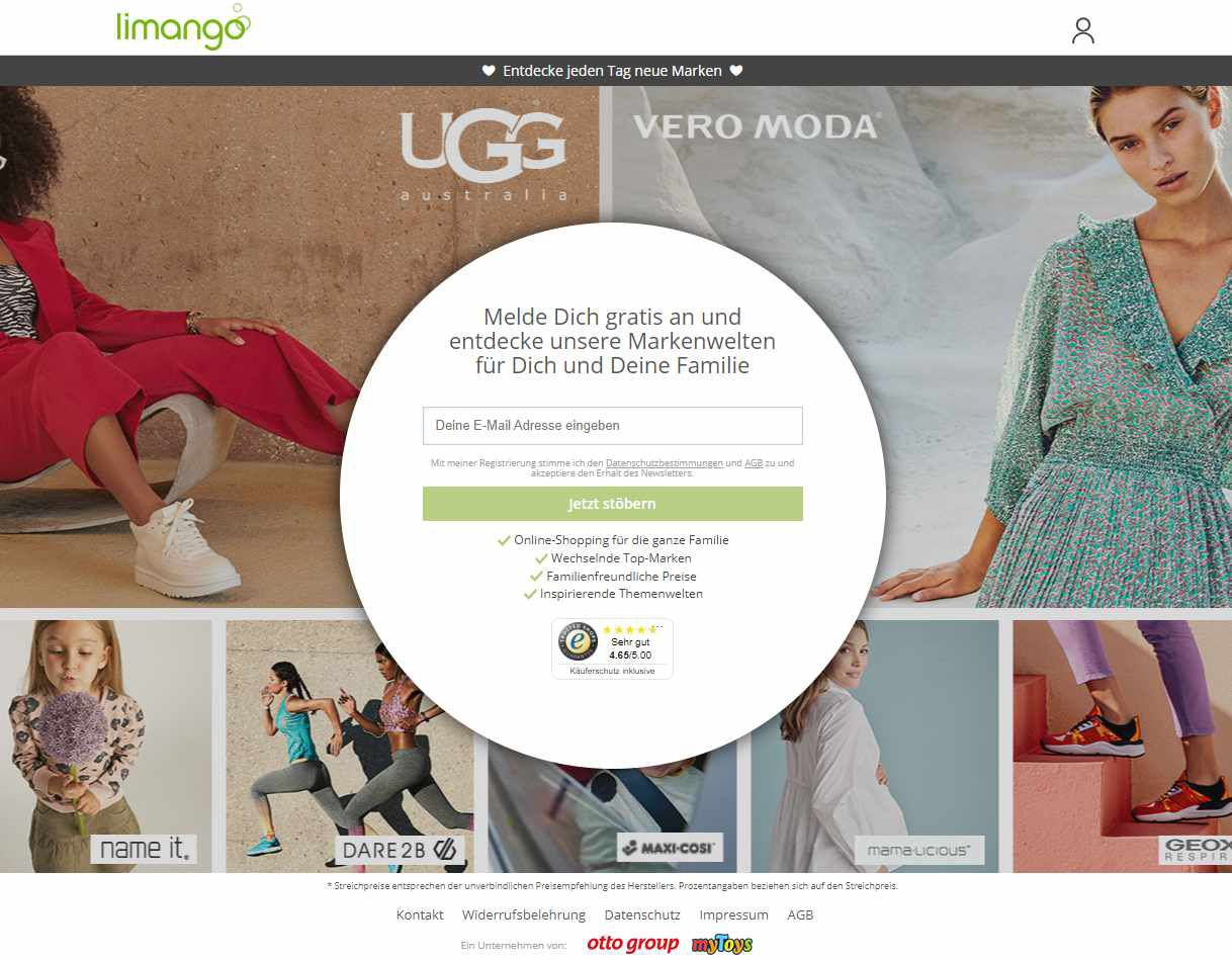 Limango Gutschein: beim Mode-Shopping richtig sparen!
