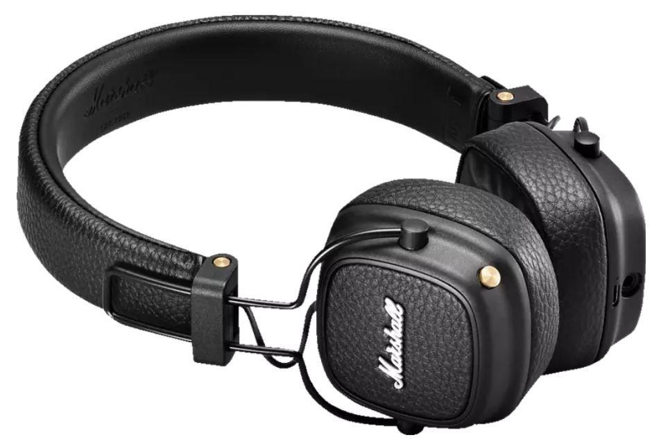 Marshall Major III Bluetooth On-Ear-Kopfhörer in Schwarz für 69€ (statt 90€)