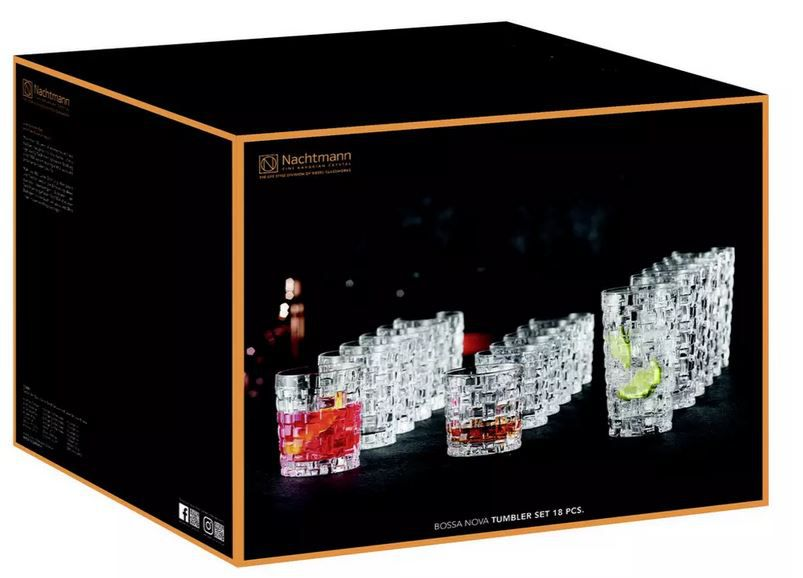 Nachtmann Bossa Nova 18 teilig Gläserset ab 24,95€ (statt 44€)