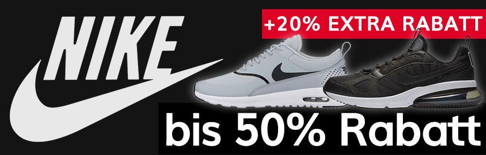Nike mit 20% Extra-Rabatt für Nike Member