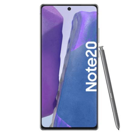 Top! Samsung Galaxy Note20 mit 256GB für 29€ + Vodafone AllNet Flat + 10GB LTE für 24,99€ mtl.
