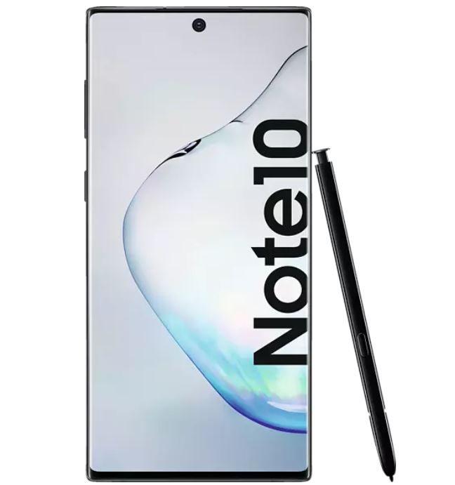 Media Markt Technik Tiefpreisspätschicht: z. B. SAMSUNG Galaxy Note10 256GB für 449€ (statt 503€)