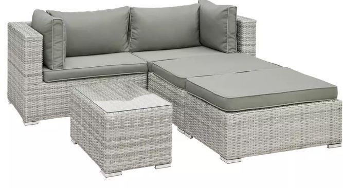 modernliving Parga 13 teilige Lounge Garnitur mit Tisch ab 377,44€ (statt 499€)