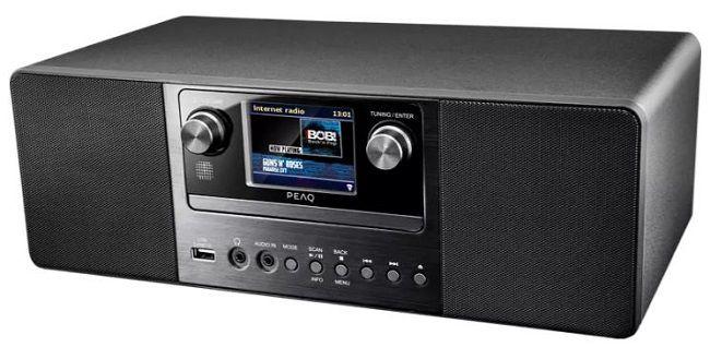 PEAQ PDR 360 BT B DAB+ Internetradio mit Bluetooth für 145€ (statt 189€)