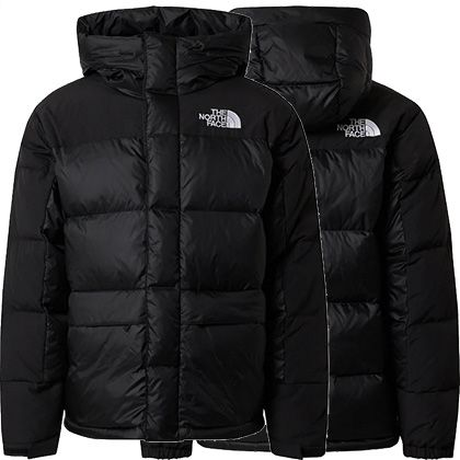 The North Face Himalayan Down Parka in Schwarz für 213,75€ (statt 288€)