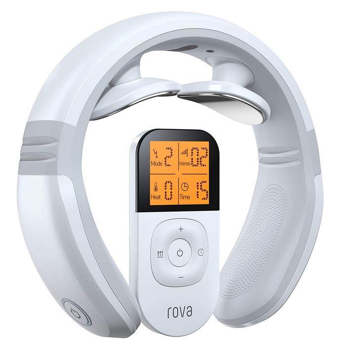 Rova Nackenmassagegerät mit Wärmefunktion für 30€ (statt 43€)