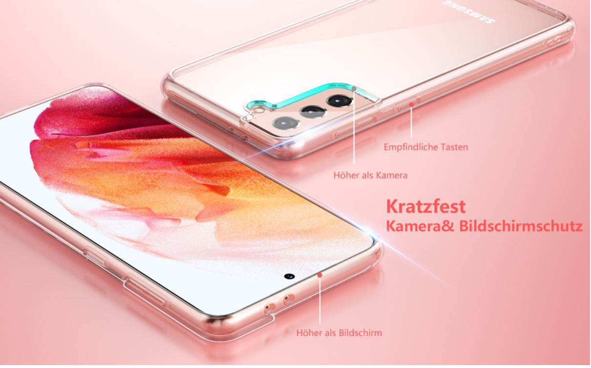SPIDERCASE Samsung Galaxy S21 Hülle für 5,84€ (statt 13€) prime