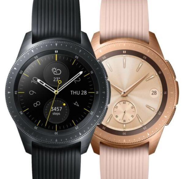 Samsung Galaxy Watch 42mm Gold o. Schwarz für je 110,61€ (statt neu 162€) – gebraucht