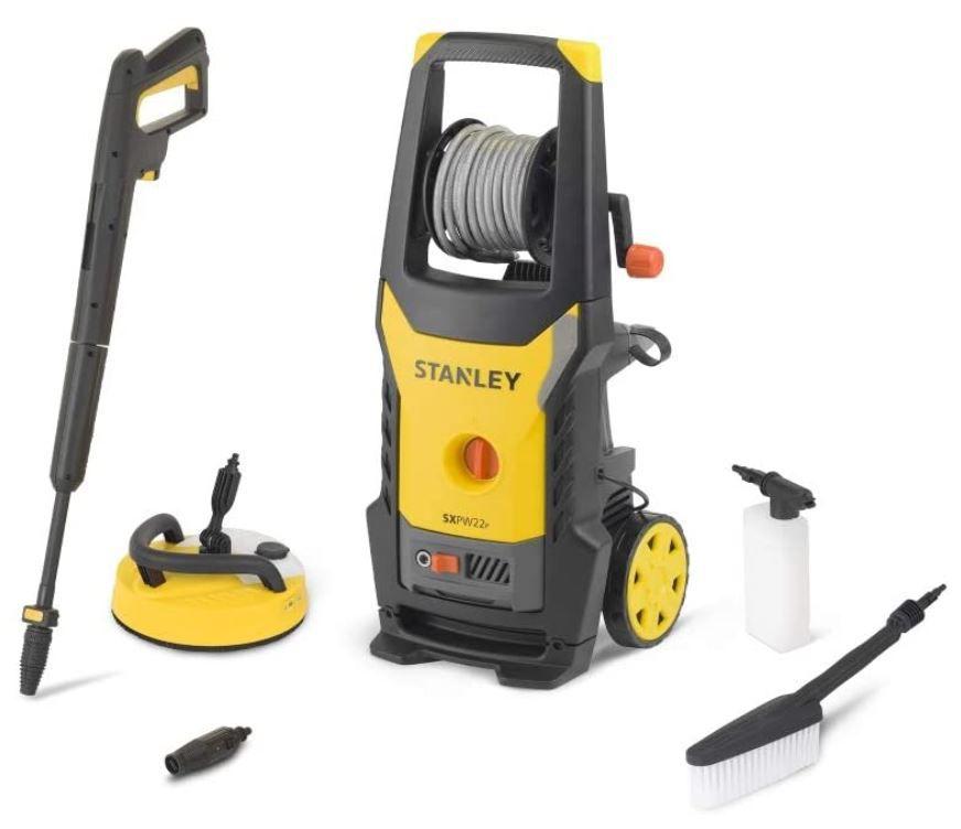 Stanley SXPW22PE Hochdruckreiniger mit Flächenreiniger für 92€ (statt 149€)