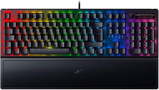 Razer BlackWidow V3 (Razer Green) Tastatur für 105€ (statt 126€)