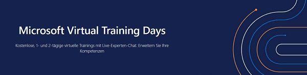 Microsoft Virtual Training Days: Gratis Kurse mit Zertifizierung