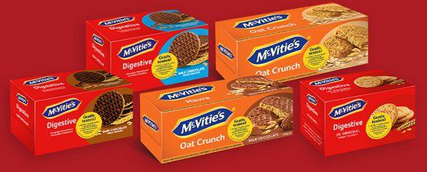McVities Kekse kostenlos ausprobieren