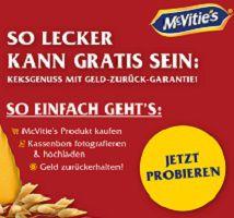 McVities-Kekse kostenlos ausprobieren