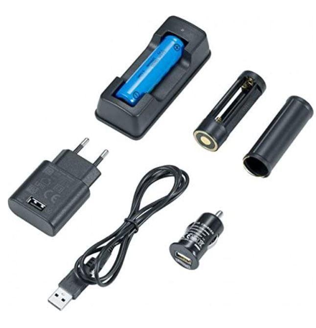 WALTHER Pro PL70 R LED Taschenlampe mit Zubehör Set für 34,95€ (statt 90€)