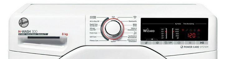 Hoover H3WSQ 483TAE 84 Waschmaschine 8 kg 1400 U/min für 289,90€ (statt 350€)