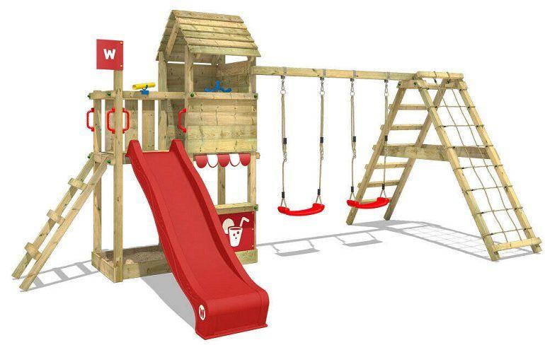 Wickey Smart Port Spielturm (Schaukel, Rutsche & Plane) für 619,95€ (statt 670€)