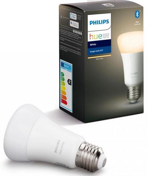 Dealclub Hue Angebote. z.B. PHILIPS Hue White E27 Bluetooth LED Leuchte für 10,99€ (statt 18€)