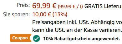 Laphroaig Lore Islay Single Malt Scotch Whisky mit Geschenkverpackung für 57,71€ (statt 69€)