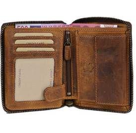 Solo Pelle Leder Geldbörse in zwei Farben für 20.00€ (statt 69,90€)