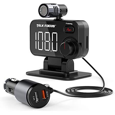 Knofarm BT92   Bluetooth FM Transmitter mit QC 3.0 für 8€ (statt 22€)   Prime