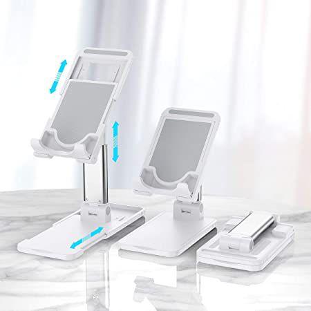 Hapfish Handy- Tablethständer für bis zu 12,9 Zoll für 6,70€ – Prime