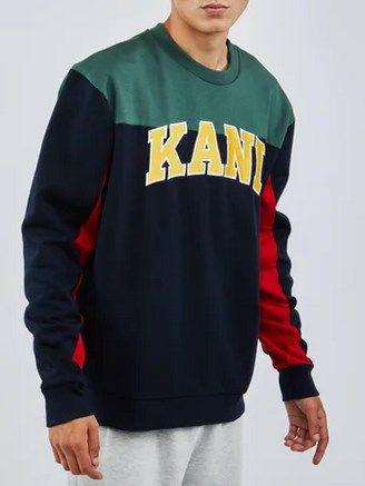 Karl Kani College Block Sweatshirt für 39,99€ (statt 67€)   S, M & XL