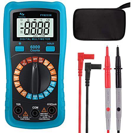 Digital Multimeter FY8233X mit LCD für 8,39€ (statt 12€)   Prime