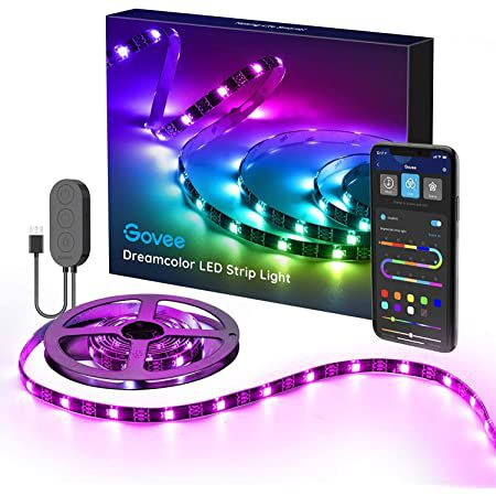 Govee 2m RGBIC LED Streifen mit App  & Sprachsteuerung für 14,99€ (statt 20€) – Prime