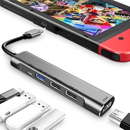 3XI USB C Hub mit 100W PD, 1x HDMI, 1x USB C, 2x USB & USB 3.0 für 12,99€ (statt 26€)   Prime