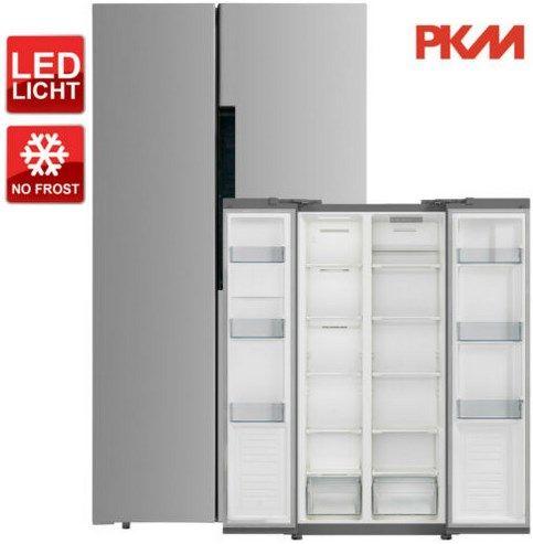 PKM SBS440.4A SI Side by Side Kühl-Gefrierkombination für 449,10€ (statt 490€)