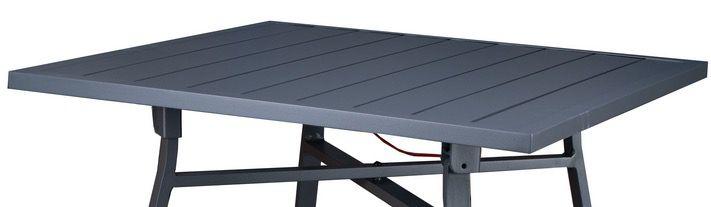 Westfield Aluminium Balkonset in Anthrazit (2x Stuhl, Tisch 70x70cm) für 99€ (statt 150€)