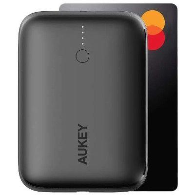 AUKEY Mini Power Bank USB C 10000mAh mit 18W Power Delivery und QC 3.0 für nur 17,24€ (statt 25€)