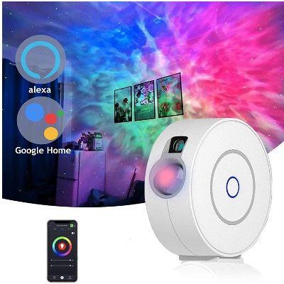 Gozye smarten Sternenhimmel Projektor mit LEDsmit Alexa & Google Home oder APP für 38,49€ (statt 55€)
